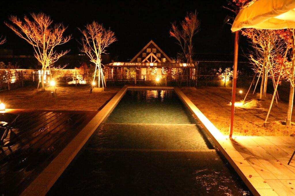 マリントピアザスィート冬の夜景