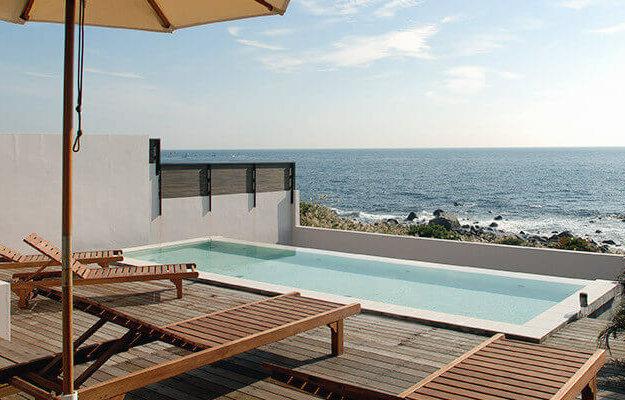 初島アイランドリゾートの露天風呂は絶景オーシャンビュー