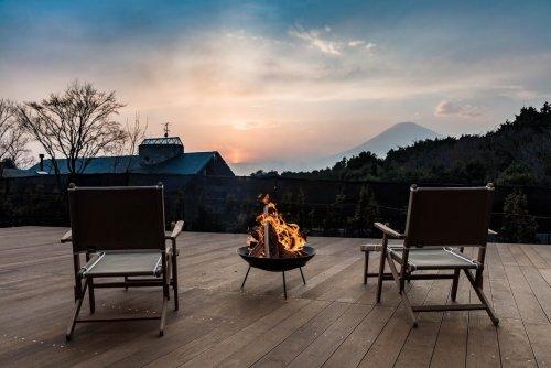 藤乃煌から望む富士山