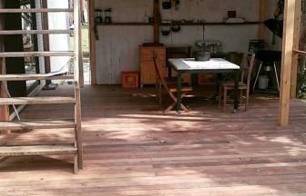 木のぬくもりがいっぱいのお部屋「プライベートガーデン」