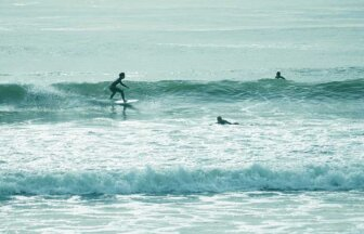 南房総のサーフィンのメッカ、一宮海岸