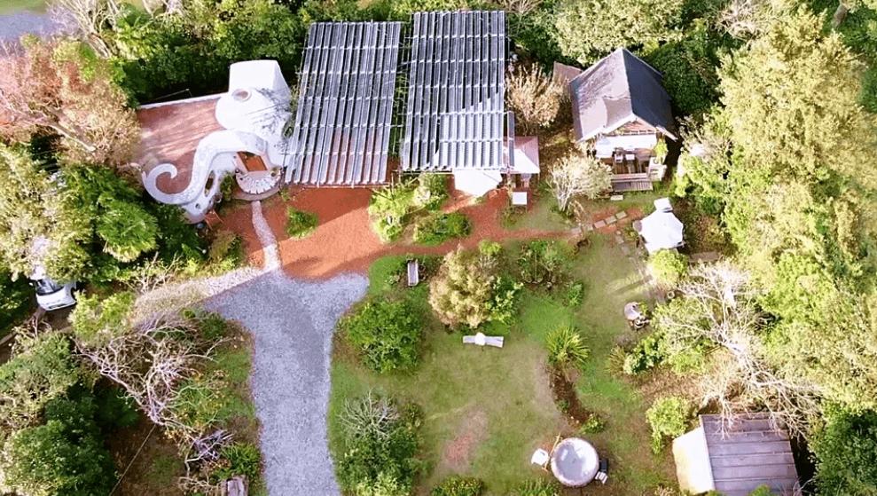 いすみガーデンリトリート&トーテムの家の広い庭