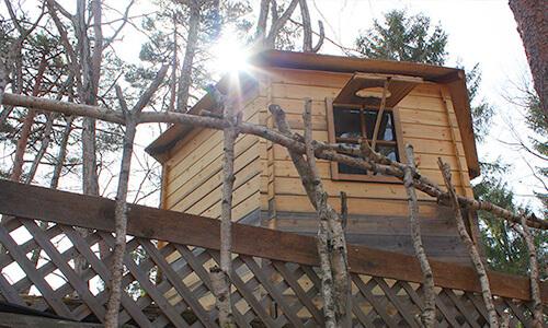 オーガニックリゾート飯綱高原のツリーハウス