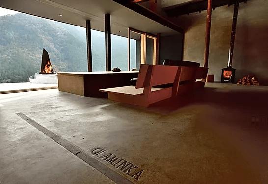 グラミンカの高台からの景色は最高