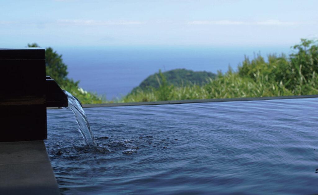 マヒナグランピングスパリゾートの露天風呂