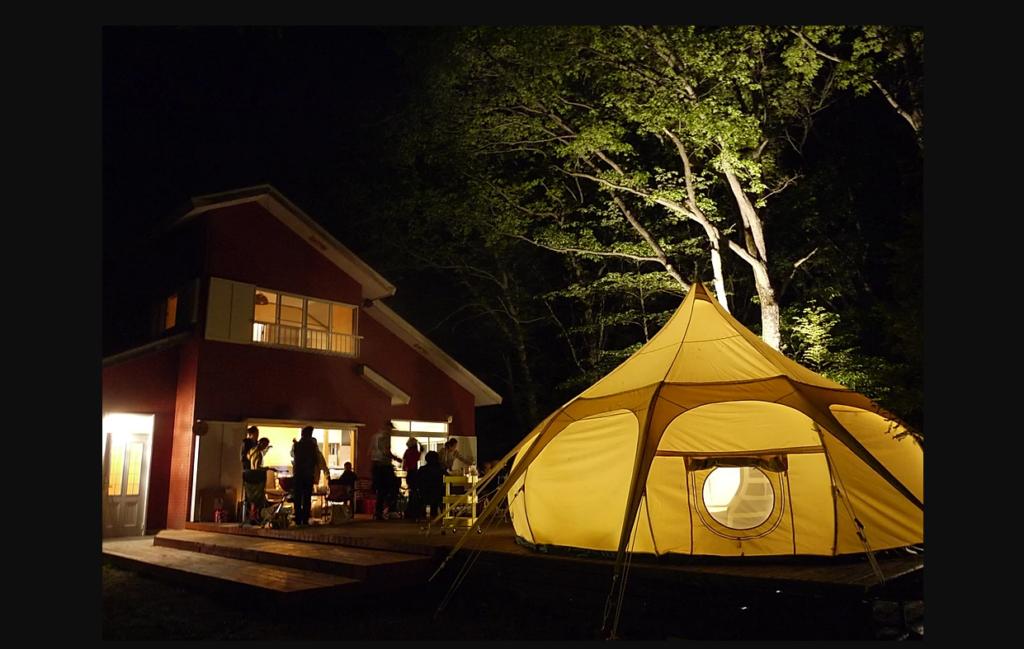 ワオグランピングコテージは2019年8月 群馬県に新規オープンしたグランピング