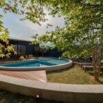 プライベートグランピング瑠璃浜の円形プール