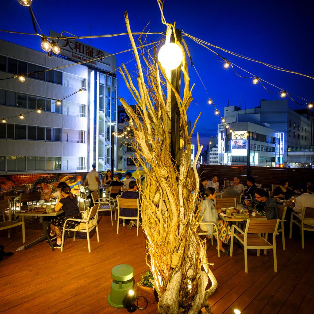本厚木ビアガーデンGlamping terrace W.Ru