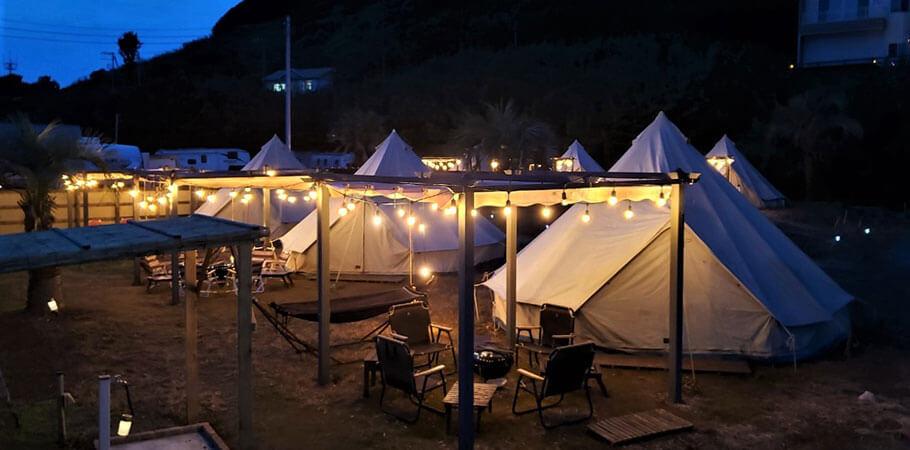 インディアンのテントにいるような雰囲気が味わえるグランピングIndian・Coast