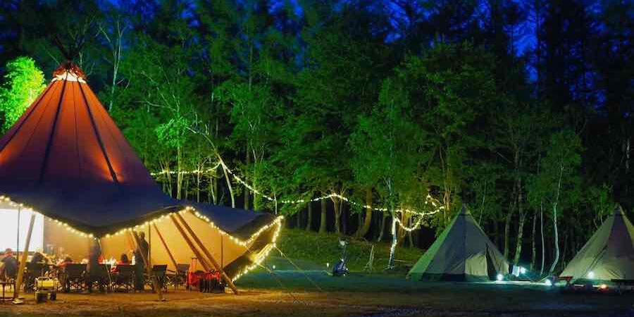Mukava Otari Private Campは1日1組限定プライベートキャンプ場