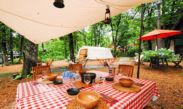 .The Forest Glamping & Grill