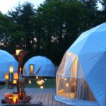 【おすすめ】関東グランピング施設 ドームテントに泊まれる人気10施設