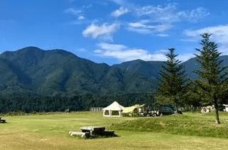 山に囲まれ、自然を感じれるやまもり温泉キャンプ場