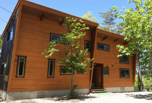 NAO明野高原キャンプ場&貸別荘はオシャレなコテージが22あります。