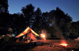 自然の中で仲間とBBQが楽しめるアスパイヤの森