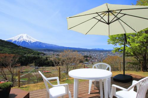 杓子山ゲートウェイキャンプ富士山ビュー
