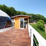 【京都】天橋立グランピングリゾート 人気のドームテント&プール付きヴィラ(1棟貸切で3密回避)