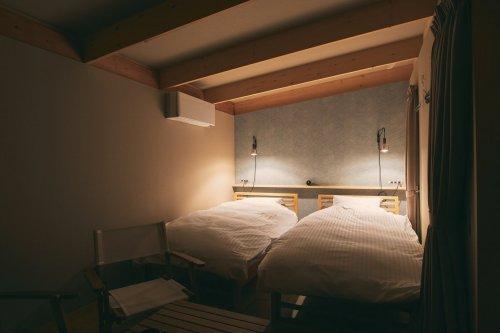 WAKKAコテージ寝室