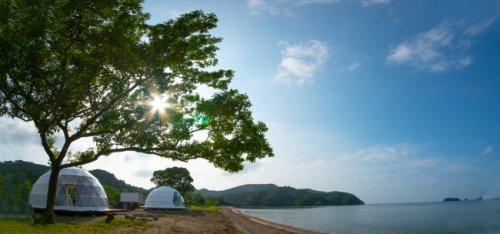 旅荘 海の蝶が管理するプライベートビーチに新設されるグランオーシャン伊勢志摩