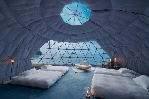 海、風、土、木、白をコンセプトにデザインされた客室は、それぞれデザインとしつらえが異なる
