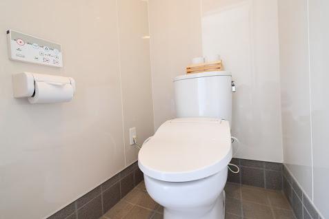 杓子山ゲートウェイキャンプのトイレ