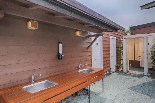 杓子山ゲートウェイキャンプの洗面