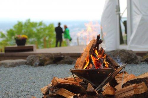 杓子山ゲートウェイキャンプの焚火台レンタル
