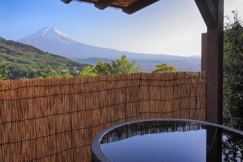 杓子山ゲートウェイキャンプの貸し切り露天風呂