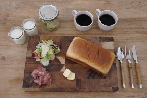 KEIKOKU GLAMPINGの朝食
